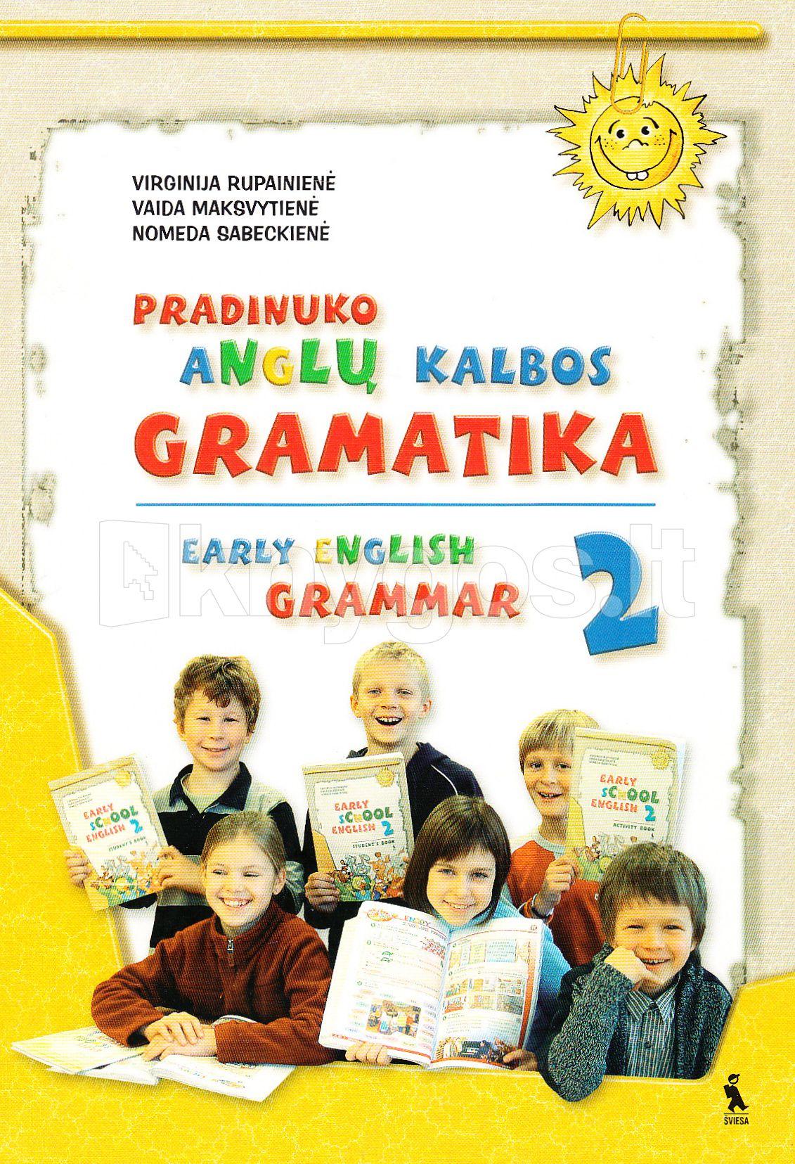 Anglu kalbos gramatika