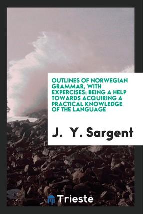 Outlines of Norwegian grammer