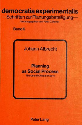 Planning as Social Process