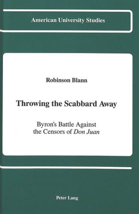 Throwing the Scabbard Away