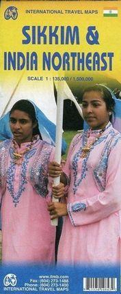 Sikkim 1 : 135 000 / India Northeast 1 : 1 500 000