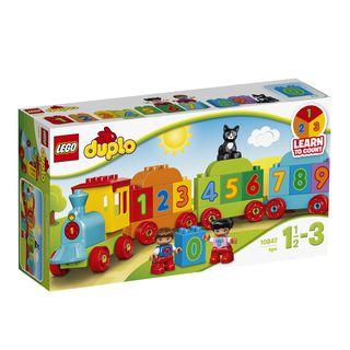 10847 LEGO® DUPLO® Creative Play Skaičių traukinys
