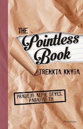 The Pointless book. Trenkta knyga