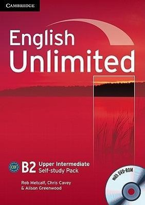 English Unlimited Upper Intermediate Self-study Pack (Workbook with DVD-ROM)