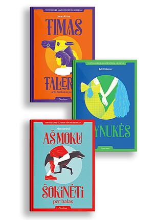 Trijų klasikos knygų rinkinys vaikams ir paaugliams
