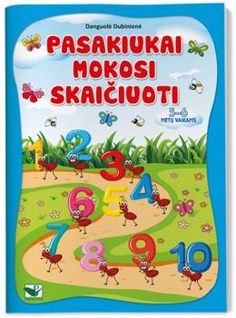 Pasakiukai mokosi skaičiuoti: 5–6 metų vaikams