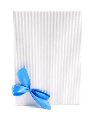 Dėžutė knygoms (balta, 16,5 x 23,5 cm)