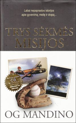 Trys sėkmės misijos (su CD)