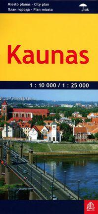 Kaunas. Miesto planas. Laminuotas 1 : 10 000 / 1 : 25 000