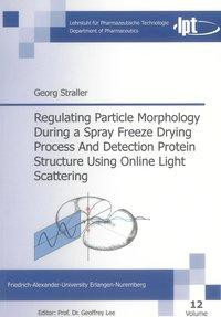 Regulating Particle Morphology During a Spray Freeze Drying Process And Detection Protein Structure Using Online Light Scattering