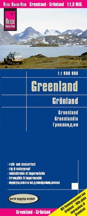 Reise Know-How Landkarte Grönland / Greenland (1:1.900.000)