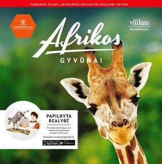 Afrikos gyvūnai. Papildytos realybės knyga