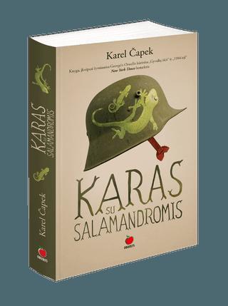 Karas su salamandromis