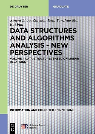 Data structures based on linear relations
