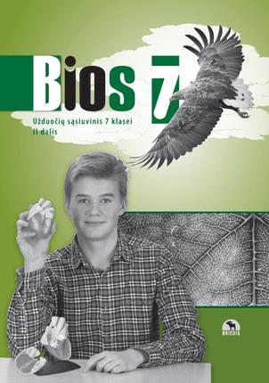 Bios 7. Biologijos užduočių sąsiuvinis 7 kl., II d. (ATNAUJINTAS)