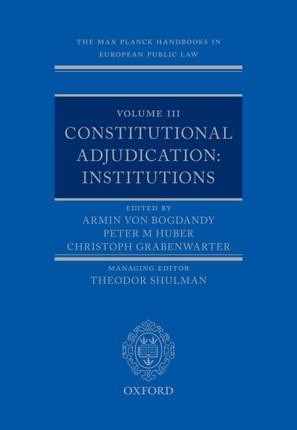 The Max Planck Handbooks in European Public Law
