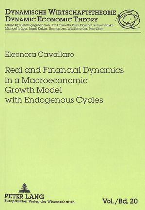 Real and Financial Dynamics in a Macroeconomic Growth Model with Endogenous Cycles
