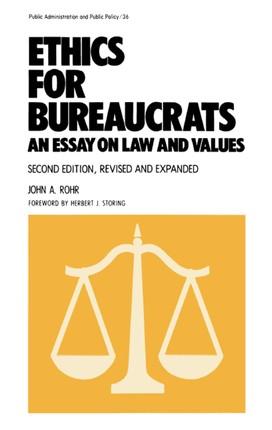 Ethics for Bureaucrats