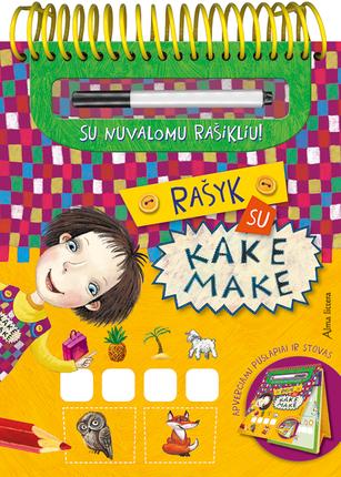 Rašyk su Kake Make (knyga su defektu)