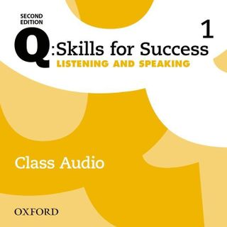 Q: Skills for Success: Level 1. Listening & Speaking Class Audio CD
