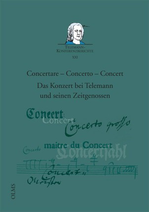 Concertare - Concerto - Concert