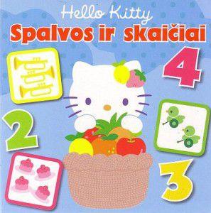 Hello Kitty. Spalvos ir skaičiai