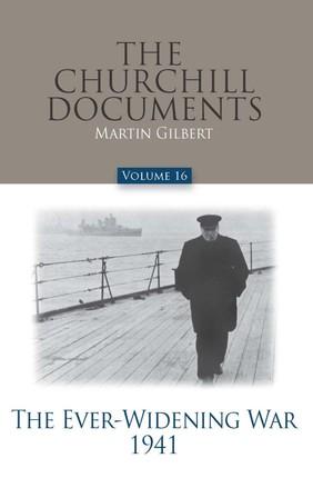 Churchill Documents - Volume 16