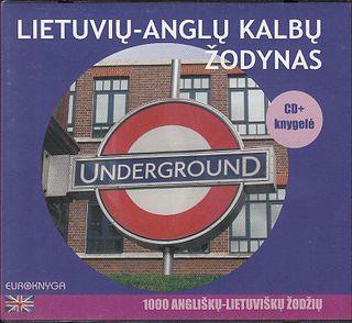 Lietuvių-anglų kalbų žodynas. CD + knygelė