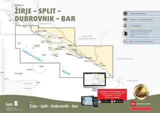 Sportbootkarten Satz 8: Adria 2  (Ausgabe 2021/2022)