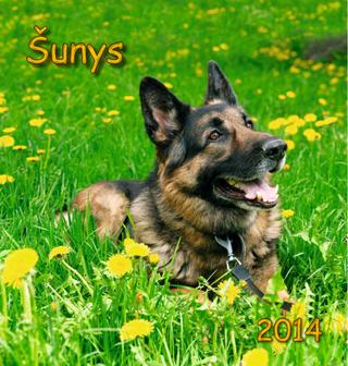 """2014 metų kalendorius """"Šunys"""""""