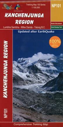 Kanchenjunga 1:100 000 NP101