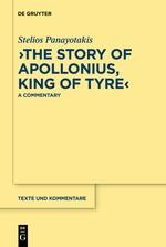 """The Story of Apollonius, King of Tyre"""