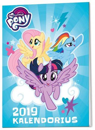 Mažieji poniai. Kalendorius 2019 + dovanėlė
