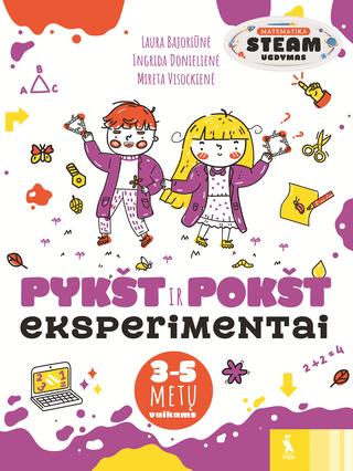 PYKŠT IR POKŠT MATEMATIKOS eksperimentai 3-5 metų vaikams
