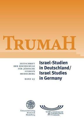Israel-Studien in Deutschland / Israel Studies in Germany