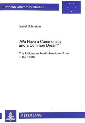 «We Have a Commonalty and a Common Dream»