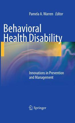 Behavioral Health Disability