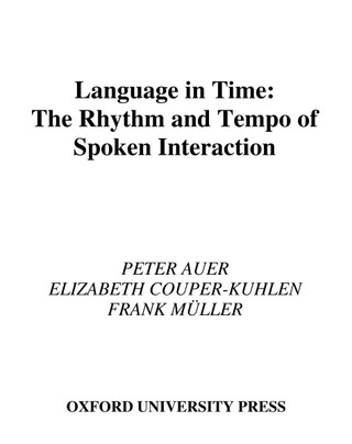 Language in Time