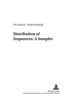 Distribution of Sequences: A Sampler