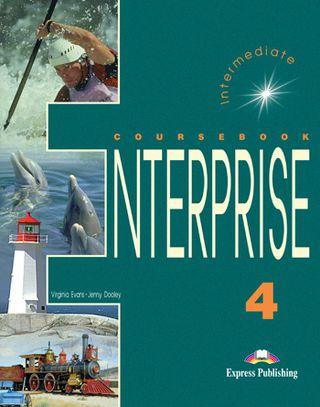 Enterprise 4. Student's book. Anglų kalbos vadovėlis