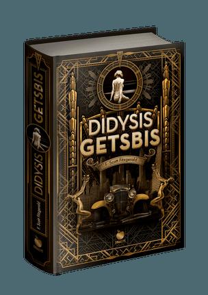 DIDYSIS GETSBIS: svarbiausias XX a. Amerikos literatūros šedevras - pirmą kartą lietuviškai riboto tiražo kolekciniu leidimu su nuotraukomis. Aukščiausios kokybės popierius, stilingas auksuotas viršelis ir juodų puslapių išskirtinis dizainas