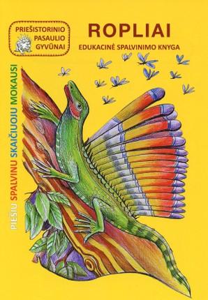 Ropliai. Edukacinė spalvinimo knyga