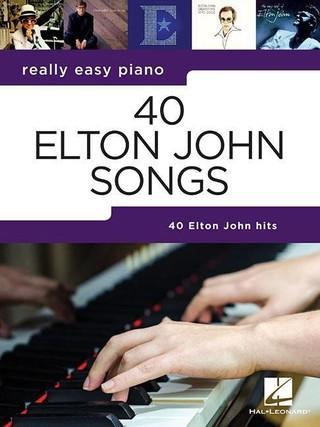 REALLY EASY PIANO 40 ELTON JOHN SONGS