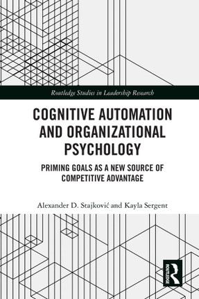 Cognitive Automation and Organizational Psychology