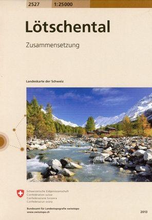 Swisstopo 1 : 25 000 Lötschental