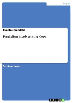 Parallelism in Advertising Copy