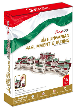 3D dėlionė: The Hungarian Parliament Building