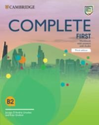 Complete First. Third edition. Workbook with answers with Audio Download