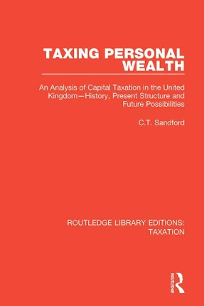 Taxing Personal Wealth