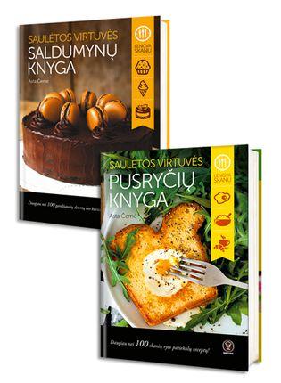 Saulėtos virtuvės pusryčių knyga: daugiau nei 100 skanių ryto patiekalų receptų! + Saulėtos virtuvės saldumynų knyga: daugiau nei 100 gardžių desertų bet kuriai šventei ir sezonui